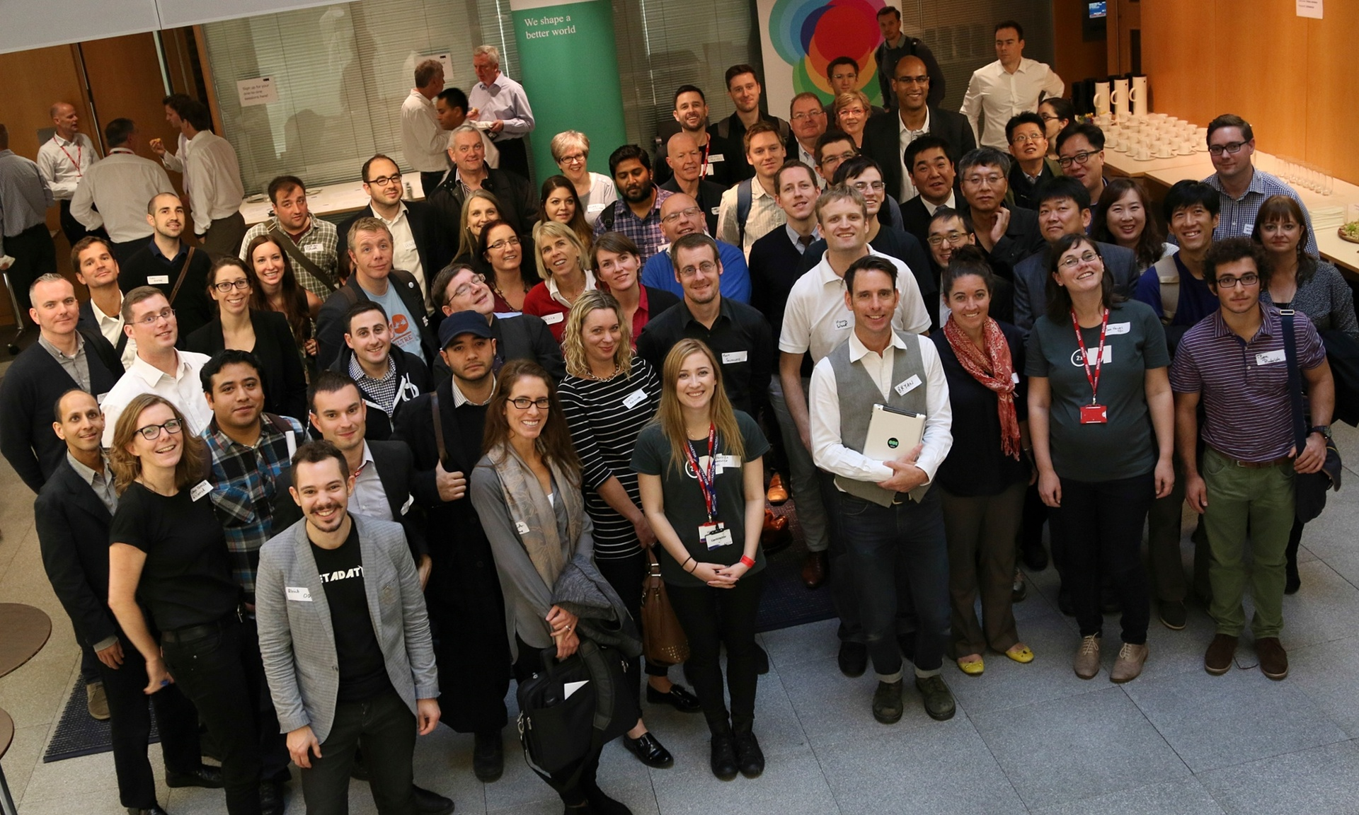 The ODI summit 2014. Photograph: Open Data Institute Knowledge for Everyone/flickr