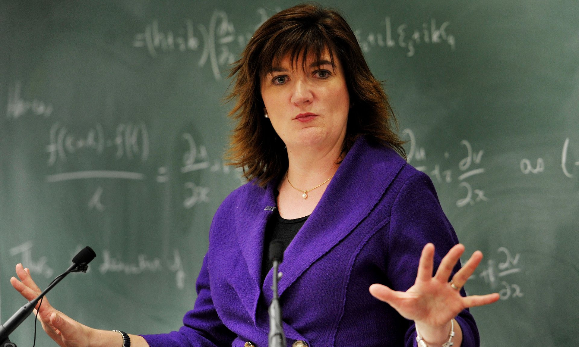 Nicky Morgan, equalities minister, announced in February that companies employing more than 250 people would have to disclose pay gaps by 2018. Photograph: Nick Ansell/PA