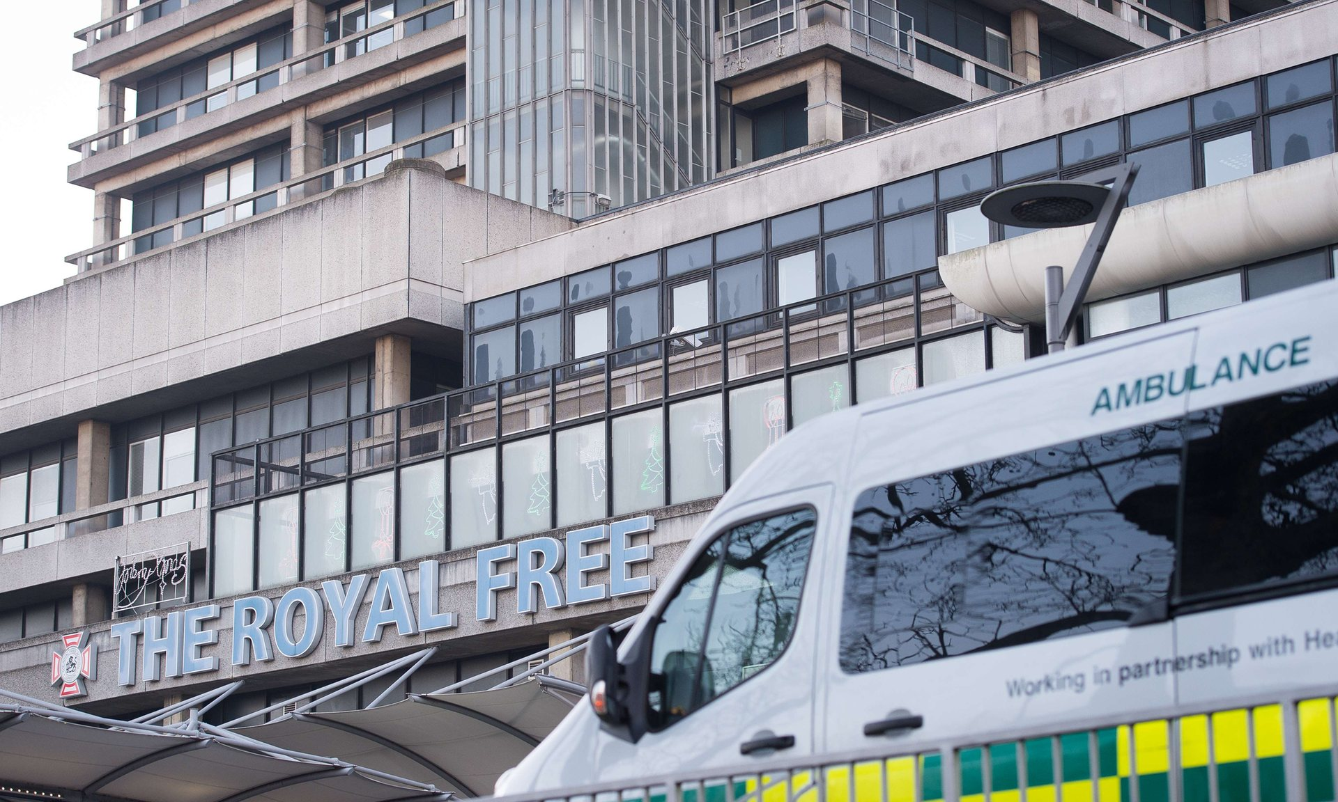 Google has been given access to the details of up to 1.6 million patients from the Royal Free Hospital Trust. Photograph: Leon Neal/AFP/Getty Images