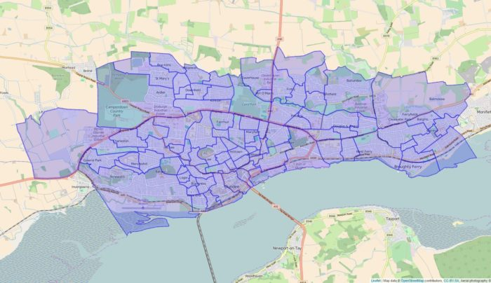 voting districts soton example